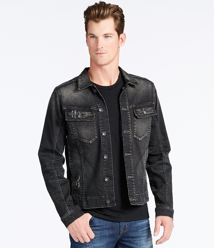 William Rast Erwin Denim Trucker Jacket
