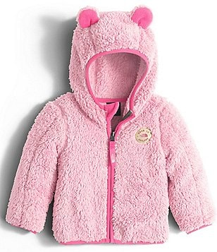 The North Face Baby Girls 3-24 Months Plushee Bear Hoodie
