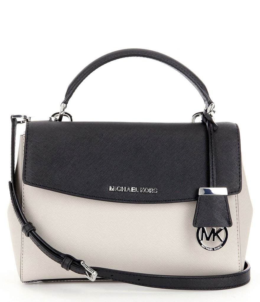 MICHAEL Michael Kors Ava Color Block Top Handle Mini Satchel