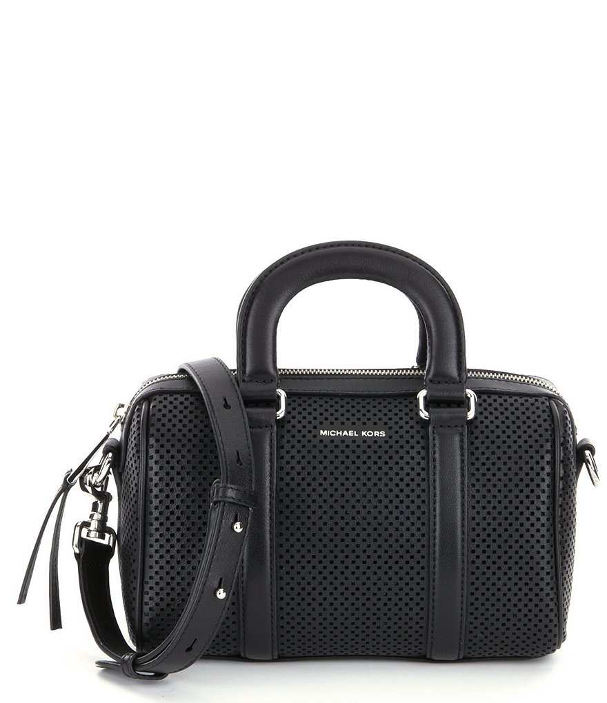 MICHAEL Michael Kors Libby Perforated Mini Satchel
