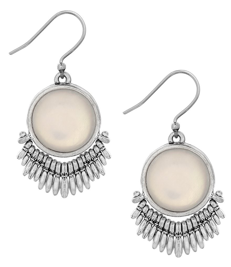 Lucky Brand Moonstone Drop Earrings