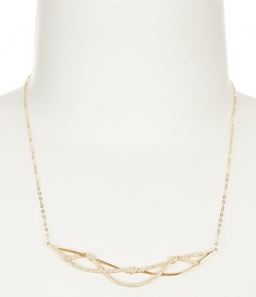 Nadri Barbarella Frontal Necklace