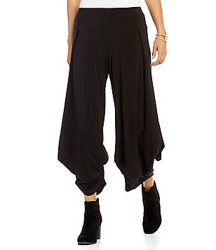 John Mark Pull-On Novelty Wide Leg Pants