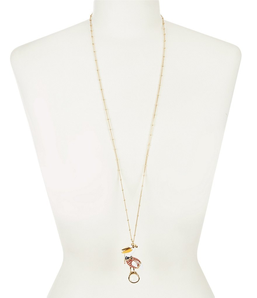 kate spade new york Pelican Pendant Necklace