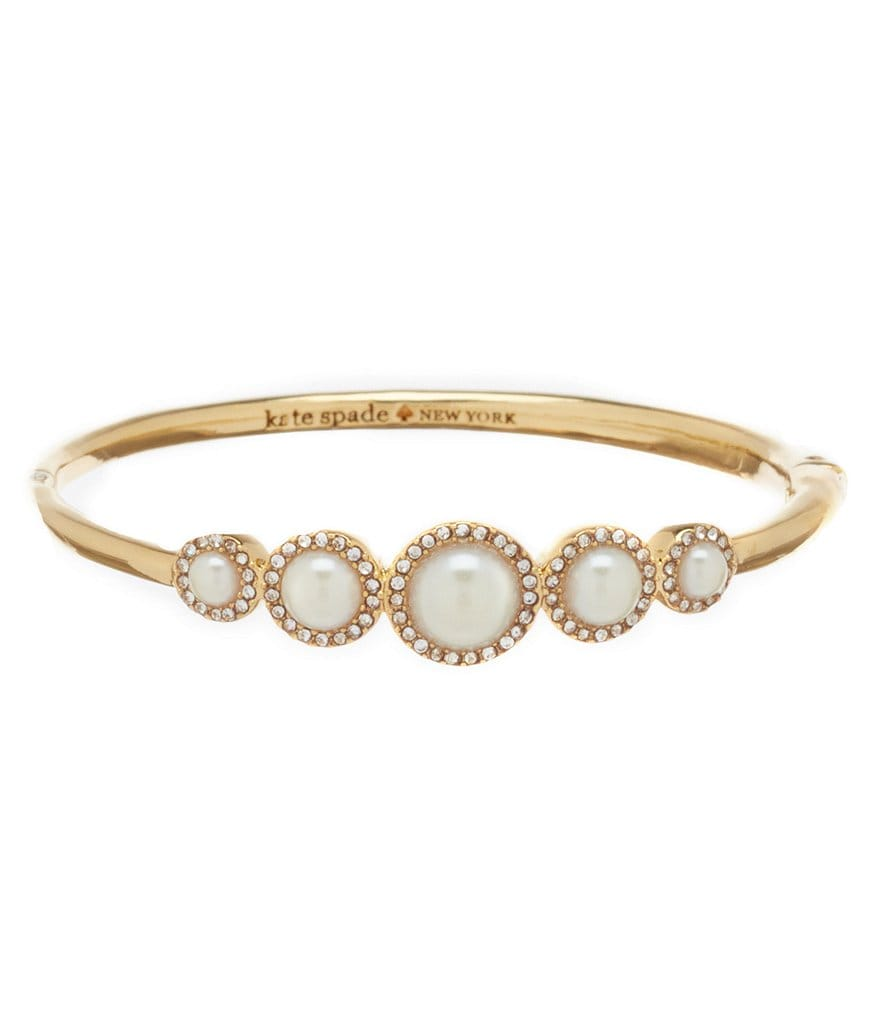 kate spade new york Pearls of Wisdom Bangle Bracelet