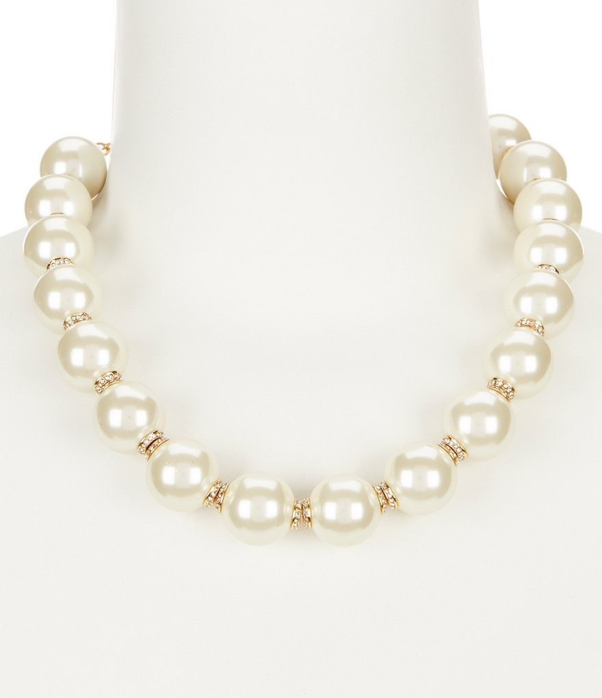 kate spade new york Pearls of Wisdom Collar Necklace