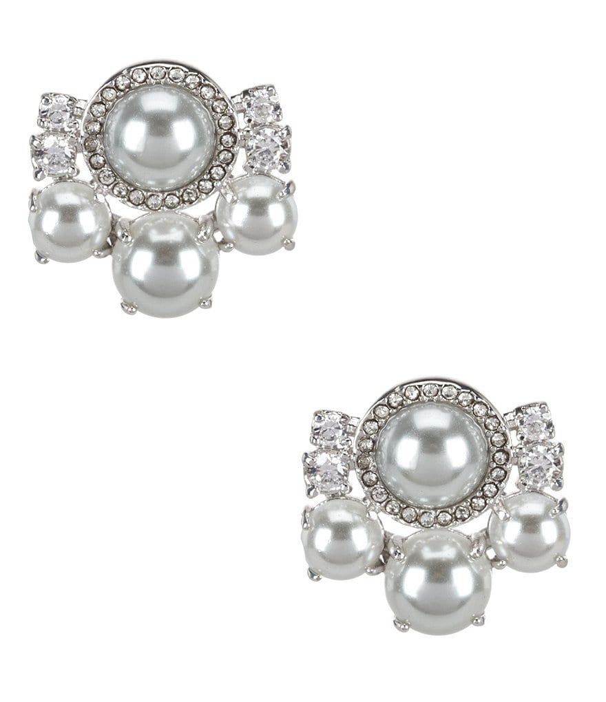kate spade new york Pearls of Wisdom Cluster Stud Earrings