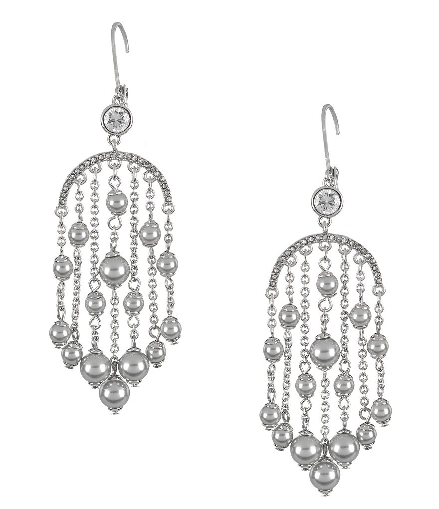 kate spade new york Pearls of Wisdom Chandelier Earrings