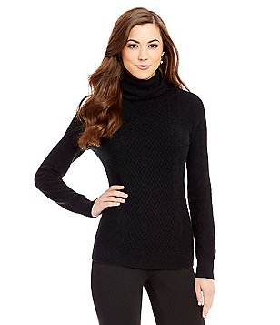 Antonio Melani Cashmere Arabella Turtleneck Sweater