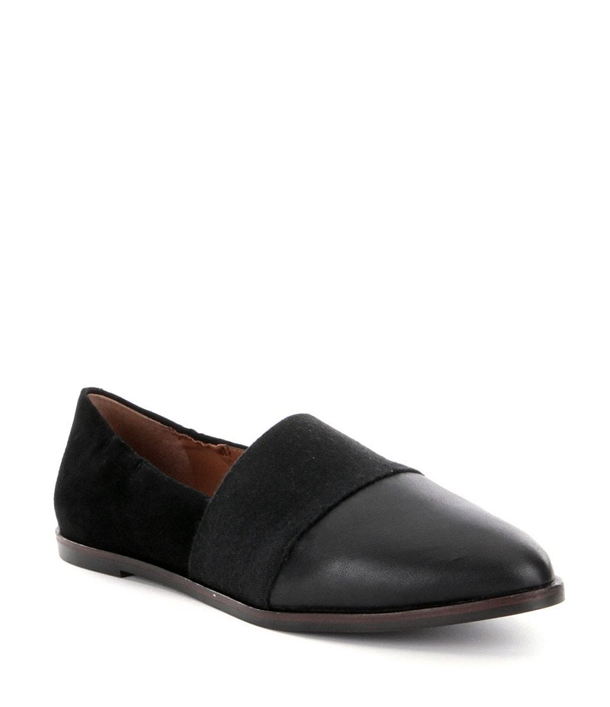 ED Ellen Degeneres Karlin Leather Slip-On Flats