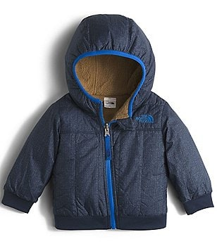 The North Face Baby Boys 3-24 Months Faux-Sherpa Fleece Reversible Yukon Hoodie