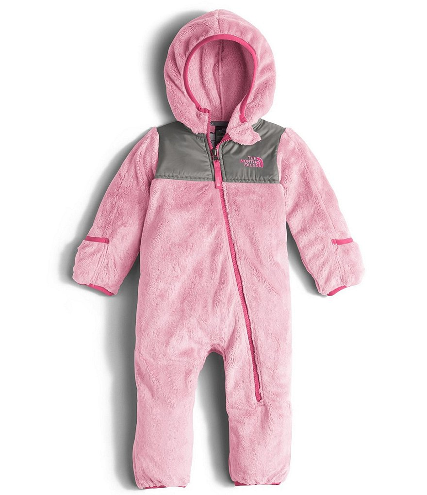 The North Face Baby Girls 3-24 Months Oso Hooded Asymmetrical-Zip Coverall