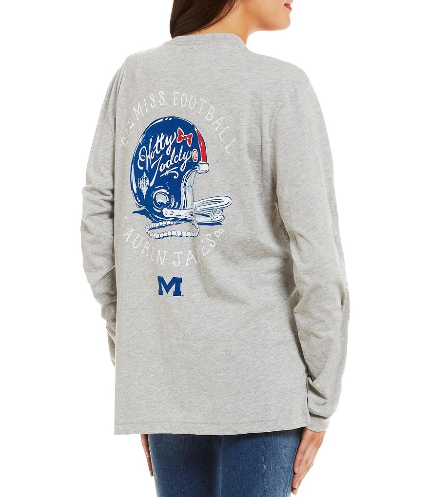 Lauren James University of Mississippi Collegiate Helmet Gameday Tee
