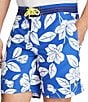 Color:White/Navy Floral - Image 4 - Polo Ralph Lauren Palm Island Swim Trunk