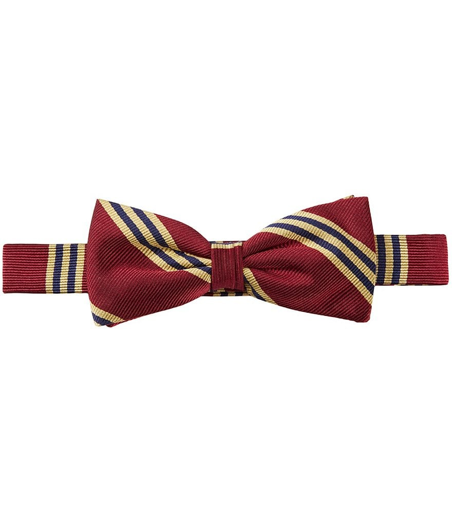 Brooks Brothers Little/Big Boys 4-20 Striped Bow Tie