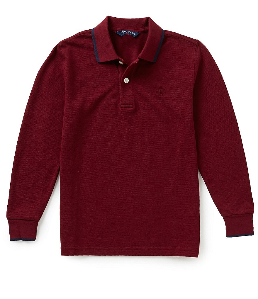 Brooks Brothers Little/Big Boys 4-20 Solid Pique Polo Shirt