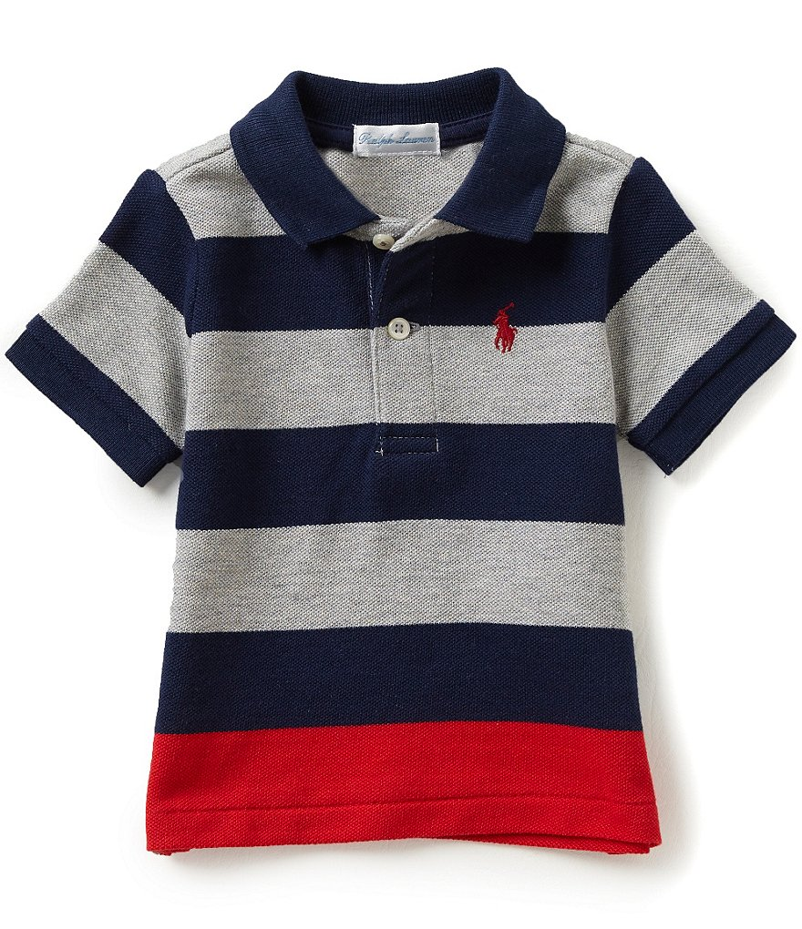 Ralph Lauren Childrenswear Baby Boys 3-24 Months Lifesaver Mesh Polo Shirt