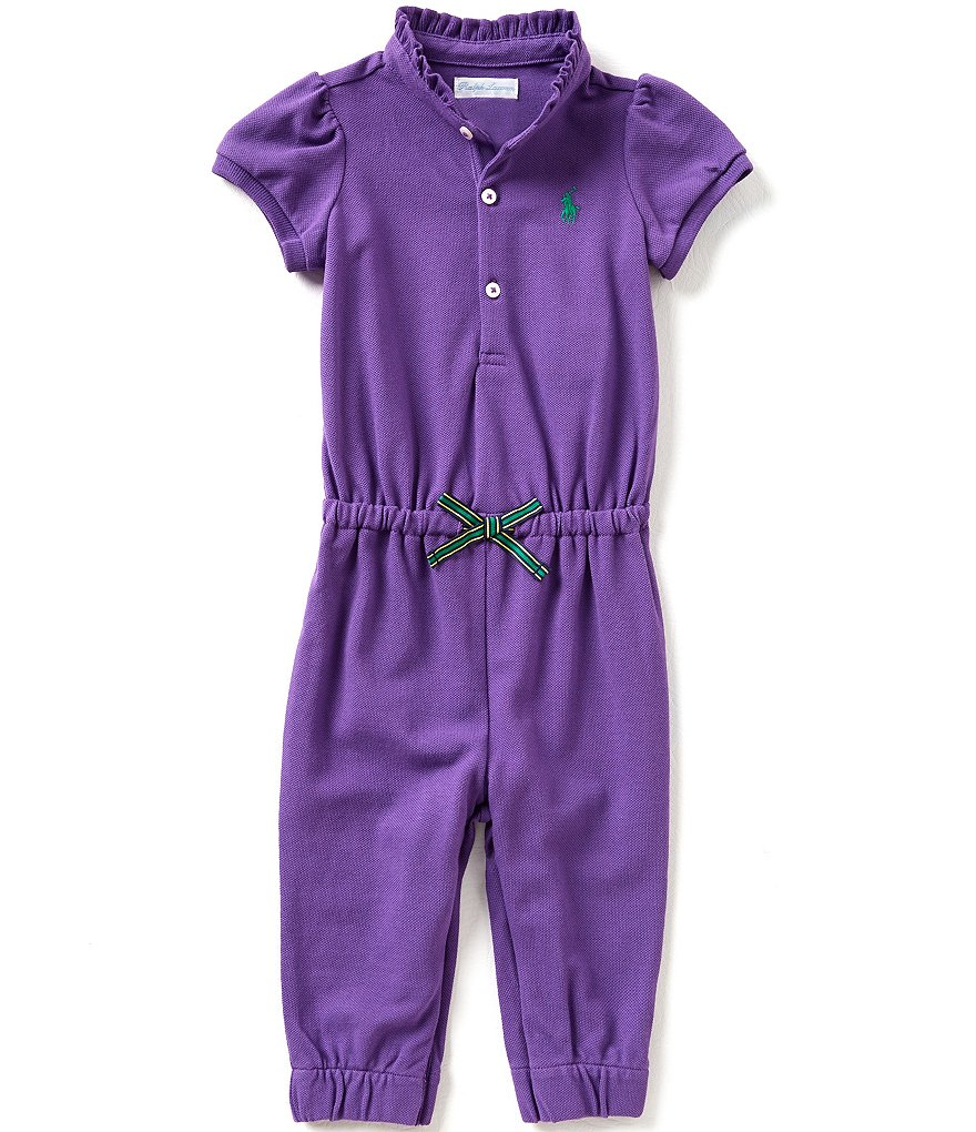 Ralph Lauren Childrenswear Baby Girls 3-24 Months Coveralls