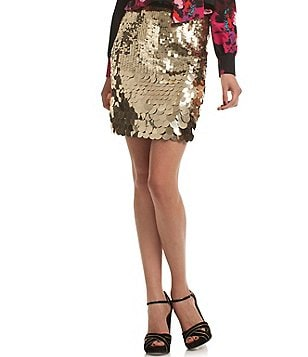 Trina Turk Kalina Sequin Mini Skirt