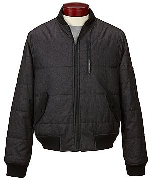 Murano Quilted Bomber Jacket