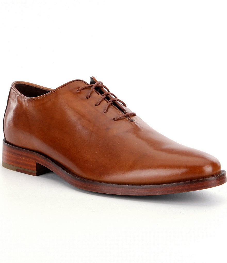 Cole Haan Men´s Preston Grand Whole Cut Leather Oxfords