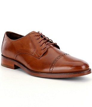 Cole Haan Men´s Preston Grand Cap Toe Leather Oxfords
