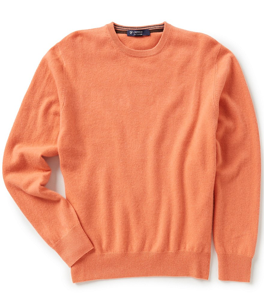 Cremieux Three-Ply Cashmere Sweater