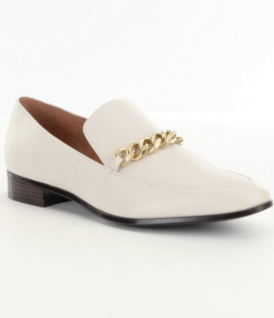Calvin Klein Fanna Leather Loafers