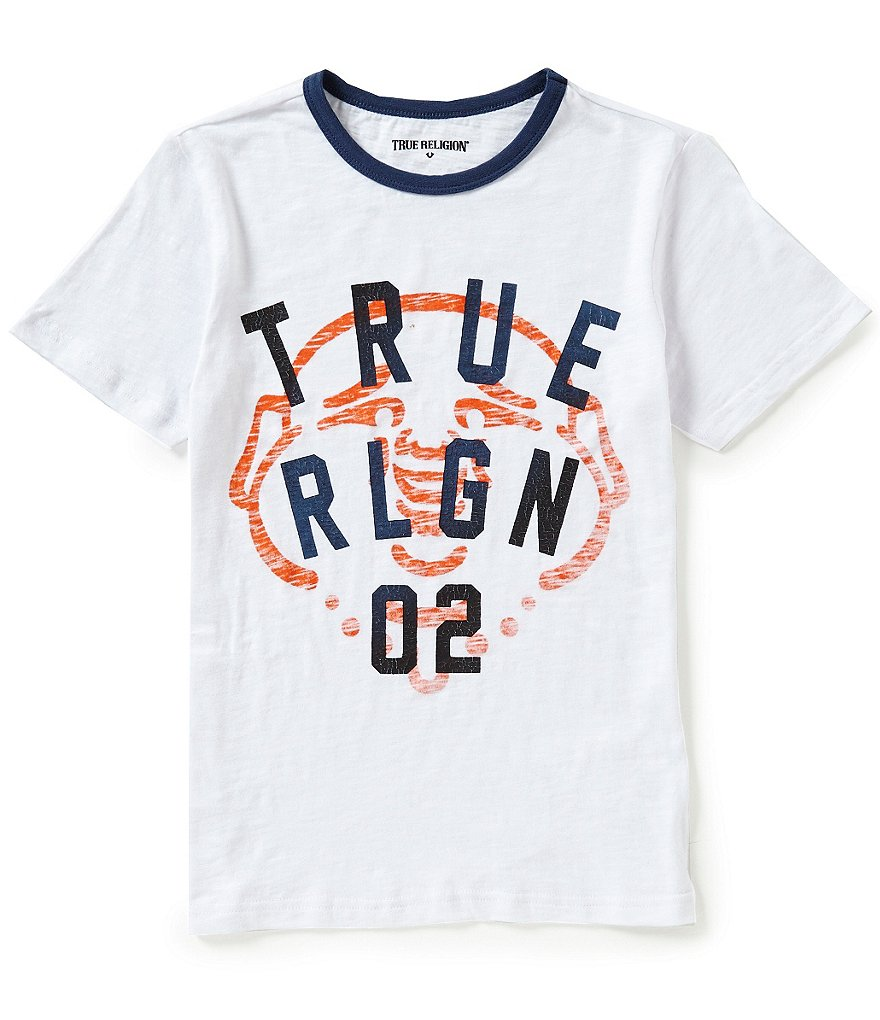 True Religion Big Boys 8-20 True Buddha Graphic Tee