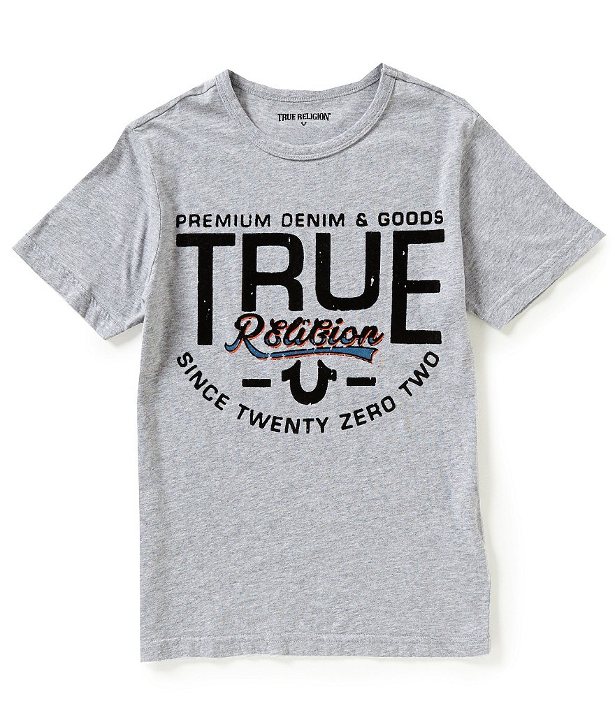 True Religion Big Boys 8-20 Denims Good Graphic Tee