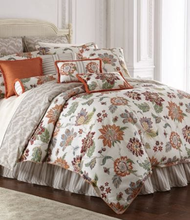 Rose Tree Lisburn Floral Jacquard Comforter Set Dillards
