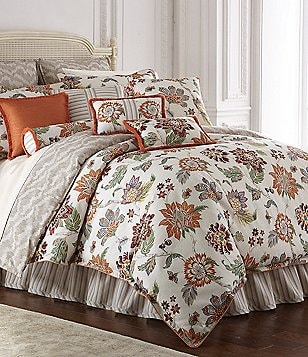 Rose Tree Lisburn Floral Jacquard Comforter Set