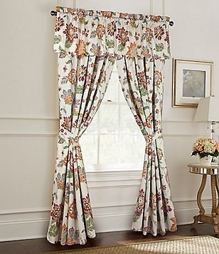 Rose Tree Lisburn Floral Jacquard Window Treatments