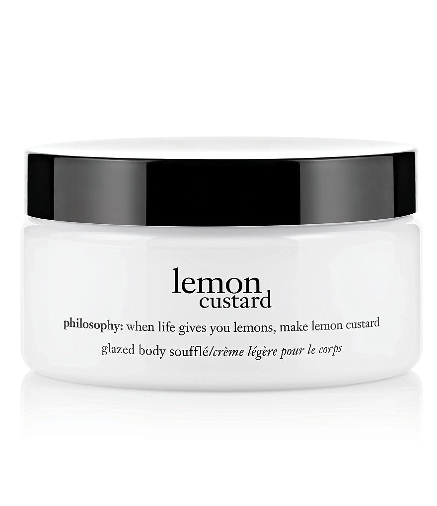 philosophy lemon custard glazed body soufflé