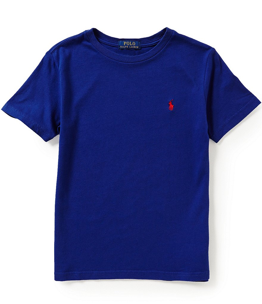 Ralph Lauren Childrenswear Big Boys 8-20 Short-Sleeve Crewneck Tee