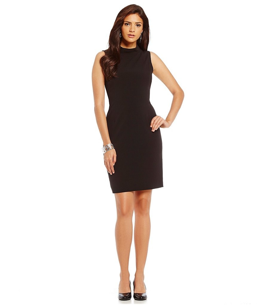 Alex Marie Aesthetic Allure Willow Mockneck Shift Dress
