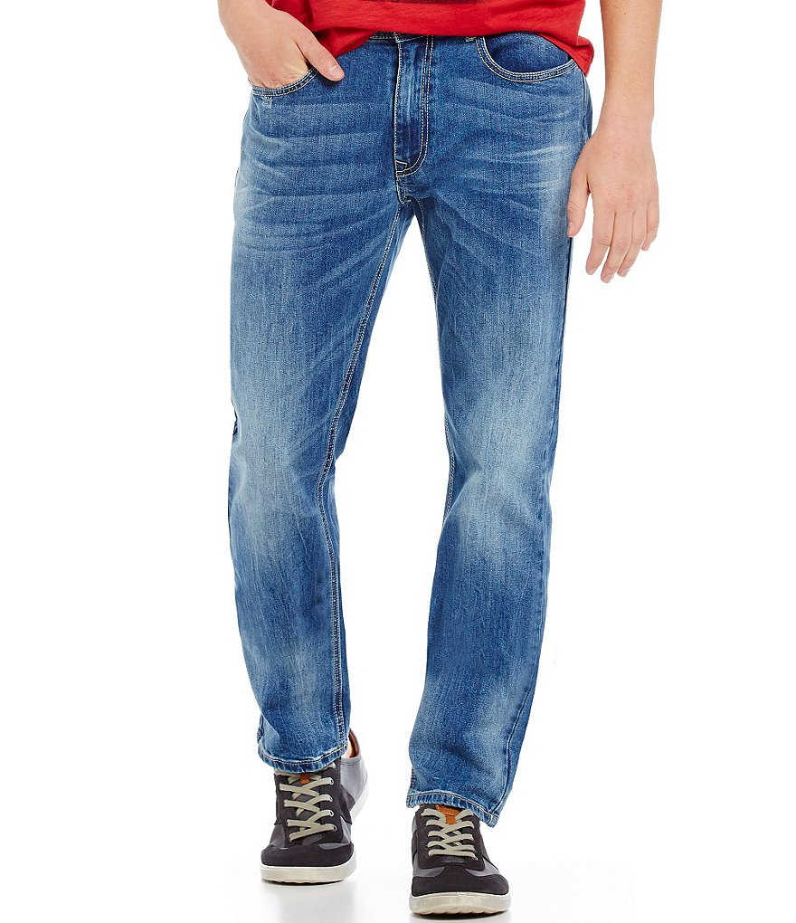 Flag & Anthem Trappe Slim-Fit Stretch Jeans