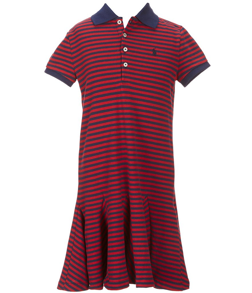Ralph Lauren Childrenswear Little Girls 2T-6X Striped Dress