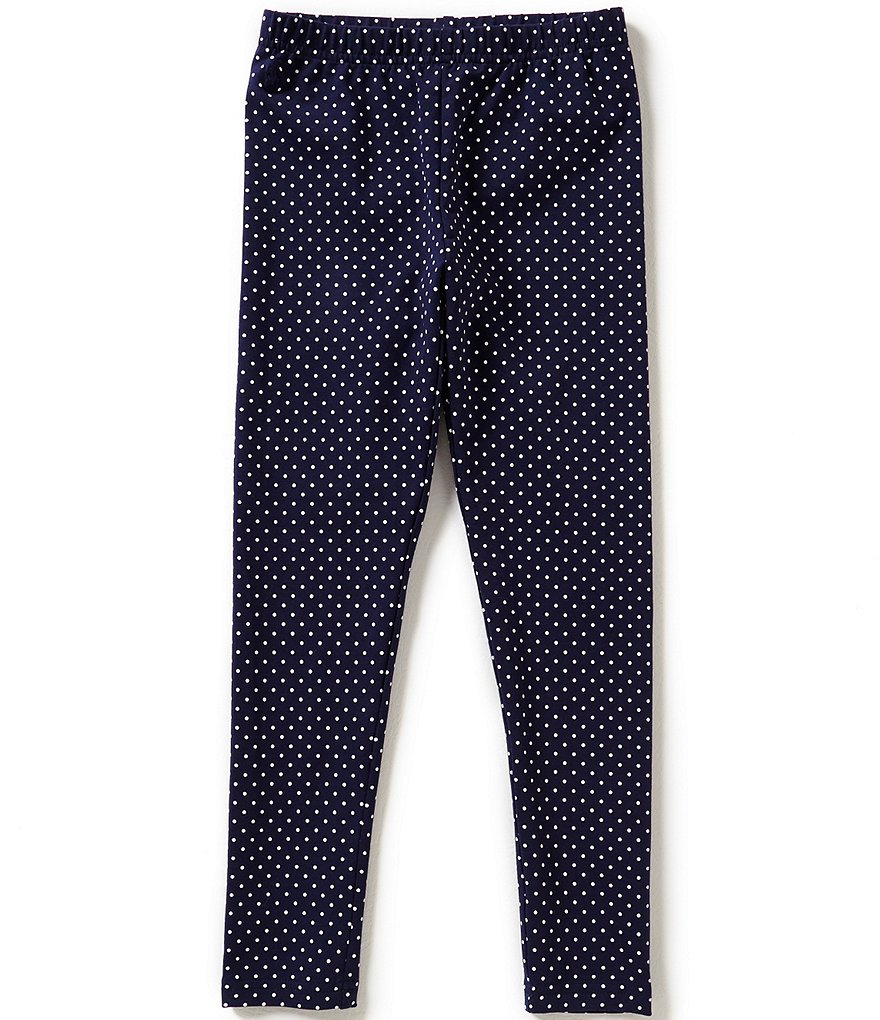 Ralph Lauren Childrenswear Little Girls 2T-6X Polka-Dot Leggings
