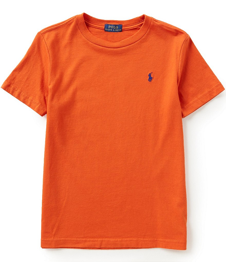 Ralph Lauren Childrenswear Little Boys 2T-7 Short-Sleeve Crewneck Tee