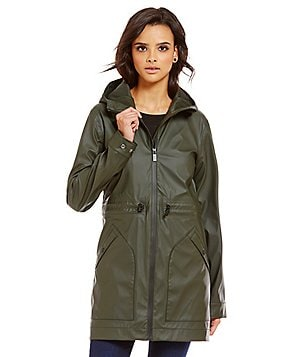 Hunter Rubberized Smock Lightweight Jersey Rain Jacket