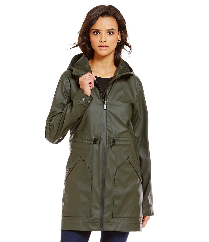 Hunter Rubberised Smock Rain Jacket
