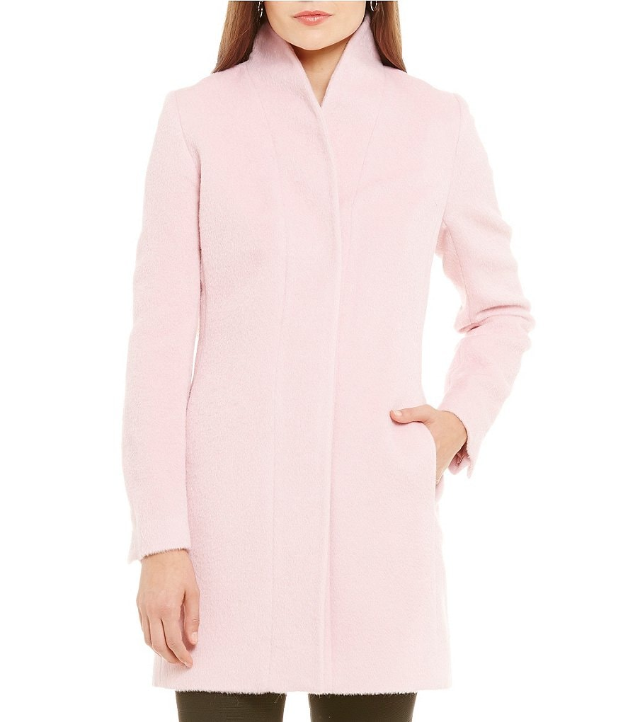 Katherine Kelly Alpaca-Wool Blend Tulip Walker Coat