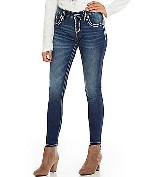 Miss Me Super Skinny Mid-Rise Jeans