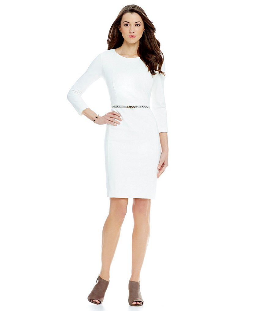 Antonio Melani Jedia Ponte Sheath Dress
