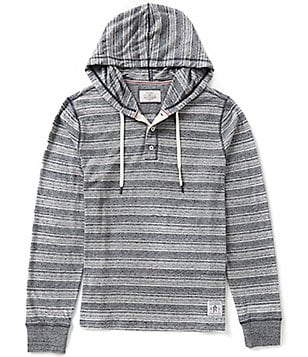 Flag & Anthem Ashland Long-Sleeve Horizontal Striped Hoodie