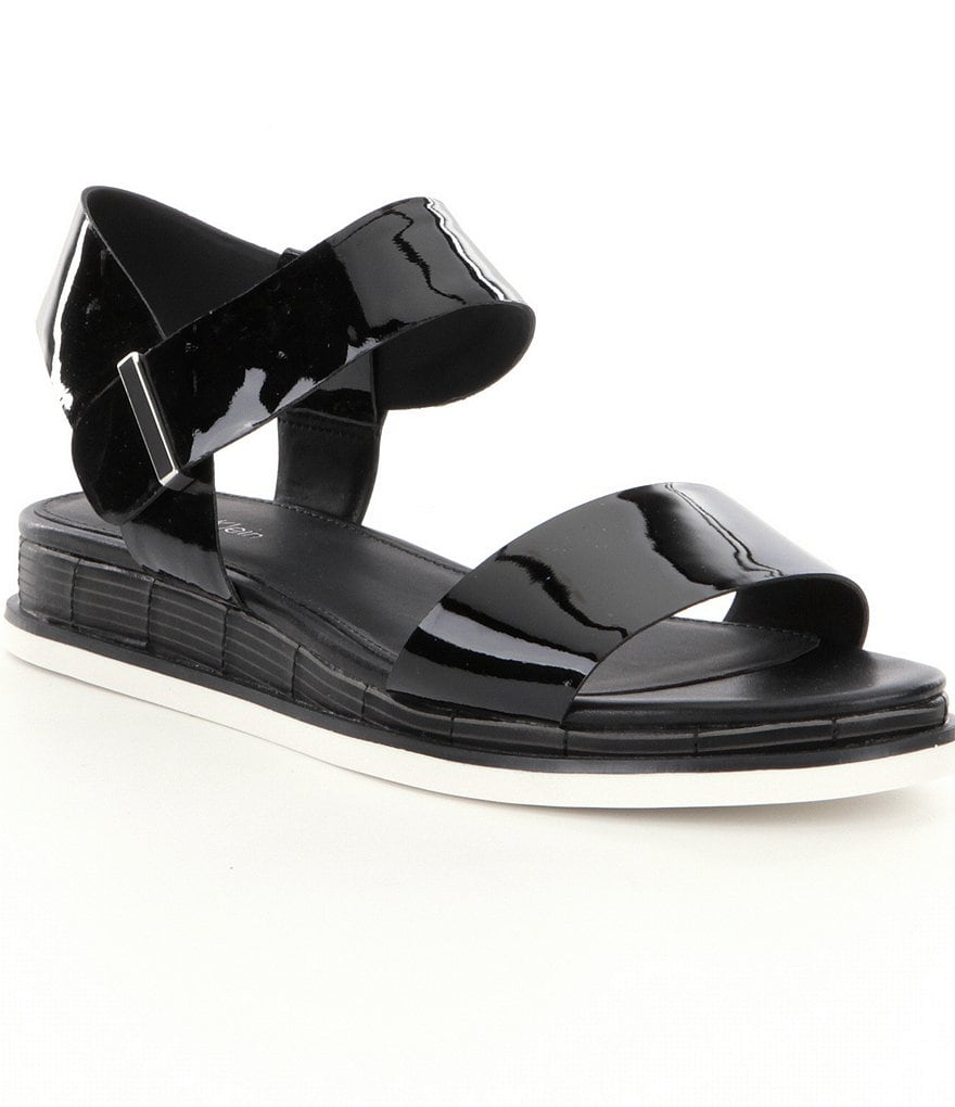 Calvin Klein Cadan Slip On Leather Sandals