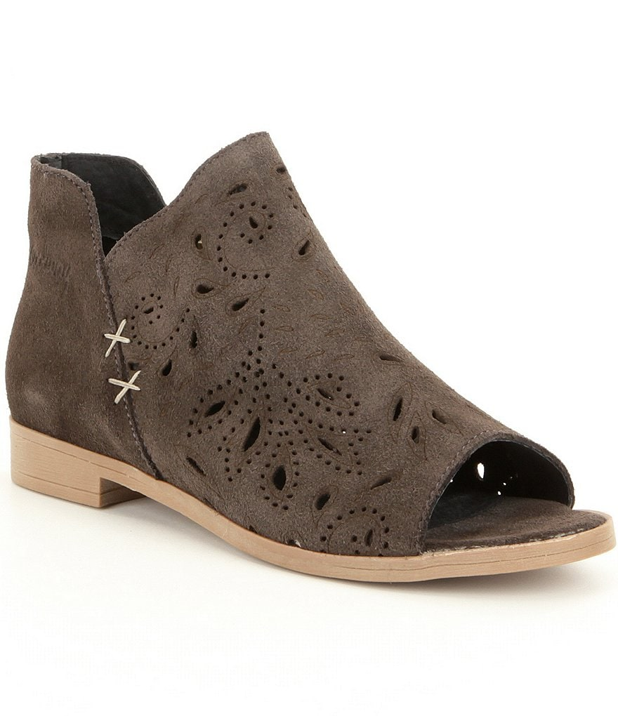 Coolway Nelia Peep-Toe Booties