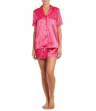 In Bloom by Jonquil Striped Satin Pajamas