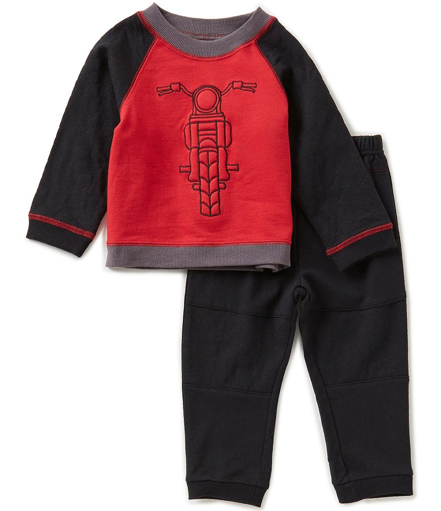 Wendy Bellissimo Baby Boys 12-24 Months Bicycle Shirt & Pants Set